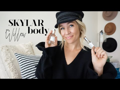Review on Skylar Body's Newest Natural Scent WILLOW
