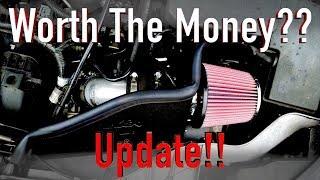 K&N Cold Air Intake Update, What Happened to It??
