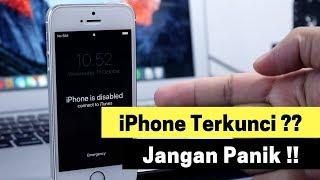 Cara Membuka IPhone Yang Terkunci (iPhone Is Disabled)