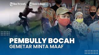 Pemuda yang Viral karena Bully Bocah di Bogor Gemeteran Minta Maaf: Cuma Bercanda Doang