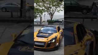 ขับรถแข่ง Super Car มาคาร์แคร์ เล่นเอาเด็กล้างรถ งงแดก ??