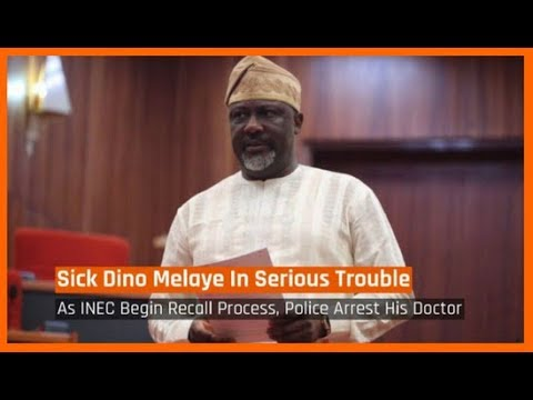 Nigeria News Today: Sick Dino Melaye In Serious Trouble As INEC Begins Recall Processes (25/04/2018)