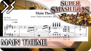 super smash bros brawl theme piano cover - TH-Clip