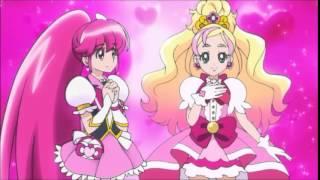Megumi Aino  - (HappinessCharge PreCure!) - Go! Princess Precure - Aino Megumi relevo a Haruka Haruno