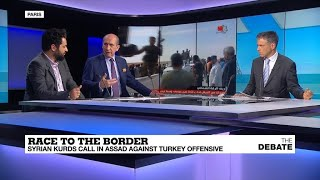 Race to the border: Syrian Kurds call in Assad against Turkey offensive