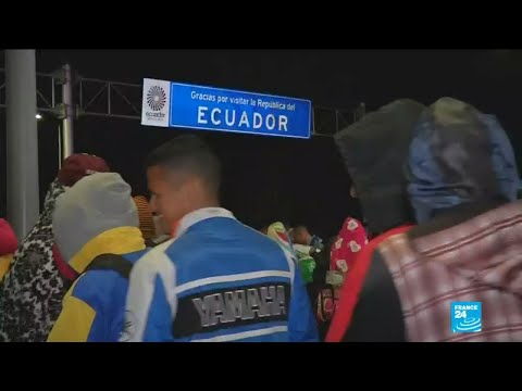 Hundreds of Venezuelans stranded at border as neighbouring countries try to curb influx of migrants