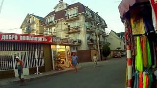 Адлер, микрорайон Чкалово. Дорога от пляжа до ул. Ленина