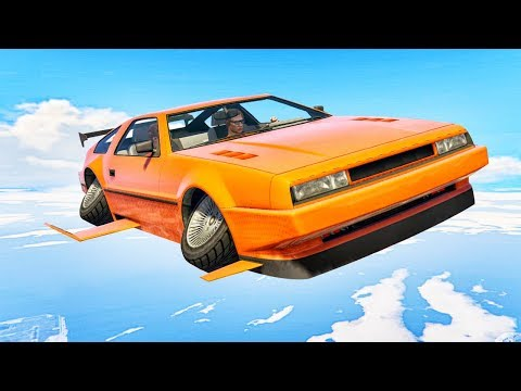 INSANE $5,000,000 FLYING CAR! (GTA 5 DLC)