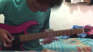 Alesana - Double Or Nothing (guitar cover)