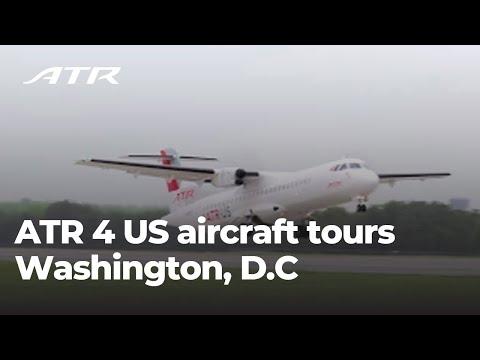 ATR 4 US aircraft stopover in Washington D.C. !