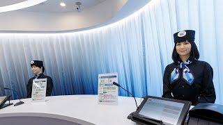 New Robot hotel opens in Tokyo