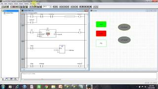 Ladder logic for conveyor belt system