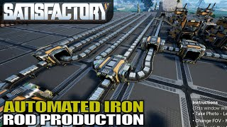 IRON RODS ARE NOW ON THE BUS   Satisfactory   Gameplay   S01E08