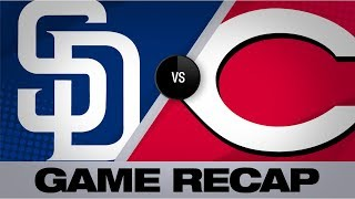 Mejia homers in Padres' 3-2 win | Padres-Reds Game Highlights 8/19/19