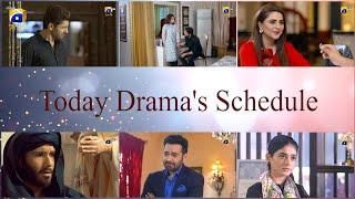 Today Dramas' Scheduled - Har Pal Geo
