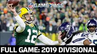 Seattle Seahawks vs. Green Bay Packers 2019 Divisional FULL Game