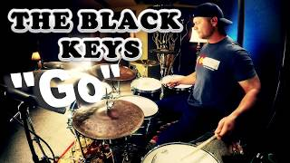 The Black Keys   Go Drum Cover (High Quality Audio) ⚫⚫⚫