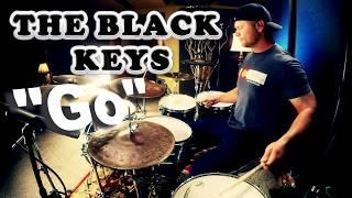 The Black Keys   Go Drum Cover (High Quality Audio) ⚫⚫⚫