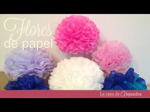 Como hacer esferas de papel - How to make paper spheres