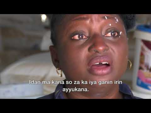 BBC Hausa: Bidiyon matar da ke sana'ar fenti