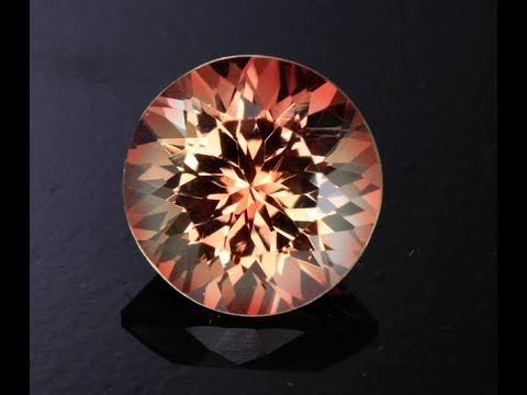Peach Color Oregon Sunstone 3.14 Carats