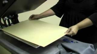 Using Kraft Paper Cover Sheet