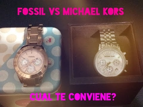 Michael Kors Vs Fossil...cual Reloj Te conviene Comprar?