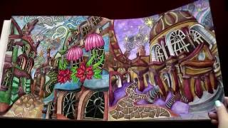 The Magical City By Lizzie Mary Cullen Flipthrough Colouring Book