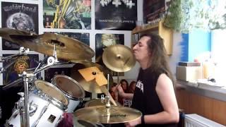 Video Alžběta - Vůle /drum cover/