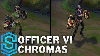 Officer Vi Chroma Skins