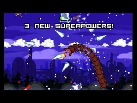 Video of Super Mega Worm Vs Santa 2