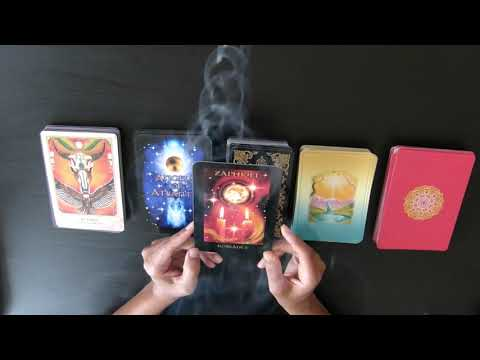 Pick an oracle card reading to any question you have