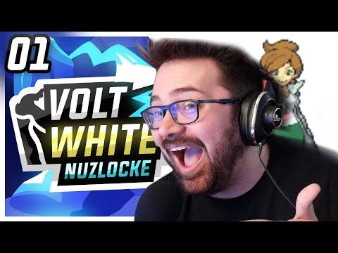 THE SPICIEST BEGINNING! • Pokemon Volt White Nuzlocke