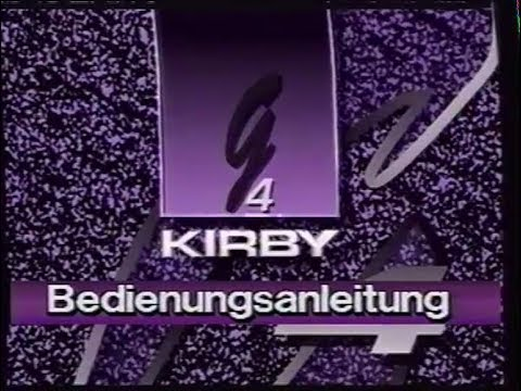 Kirby G4 - Bedienungsanleitung (Deutsch/German)