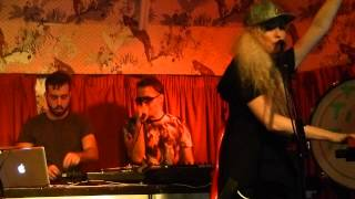 The Ting Tings - Green Poison & Hands live the Deaf Institute, Manchester 29-11-14