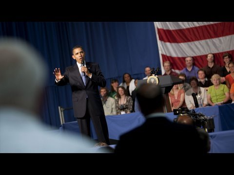 President Obama's Health Care Town Hall, Green Bay