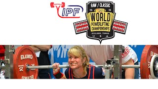 Women Open, 63 kg - World Classic Powerlifting Championships 2016