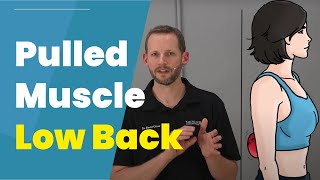 Pulled Muscle In Low Back? 3 DIY Treatments