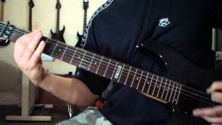 Dismember - Skin Her Alive (guitar cover)