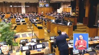 Opposition Disrupt Gigaba