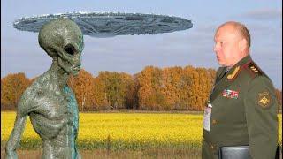 """Шок! В России на полигоне """"Владимировка"""" произошел контакт с пришельцами. Заявление генерала об НЛО"""