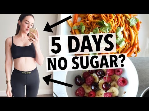 Video 5 DAYS NO SUGAR | HOW I QUIT SUGAR + HEALTHY RECIPE IDEAS!