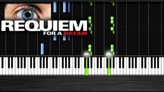 Requiem For A Dream Piano   Piano Tutorial By PlutaX  Synthesia