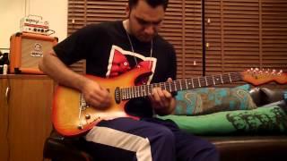Steven Wilson- Regret #9 Guitar Solo Cover