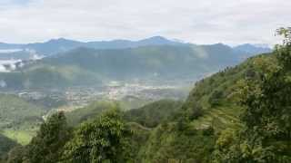 preview picture of video 'Pokhara City View from Armala Kot'