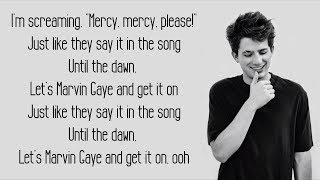 Marvin Gaye   Charlie Puth Ft. Meghan Trainor (Lyrics)