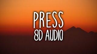 Cardi B - Press (8D Audio)🎧