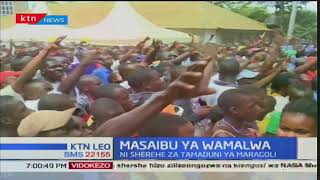 Waziri Eugene Wamalwa atimuliwa kwa hafla ya kusheherekea utamaduni wa Maragoli eneo Vihiga
