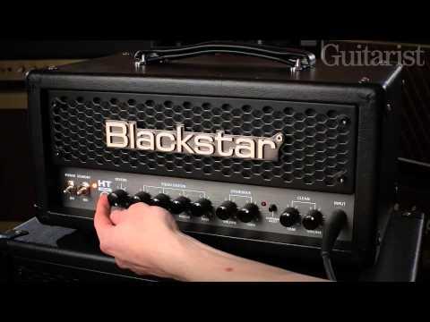 Blackstar HT Metal 5H head & HT Metal 60 2x12 combo guitar amp demo