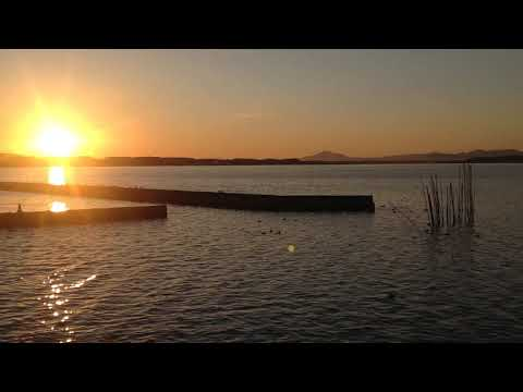 VIDEO: Sunset in Hinuma